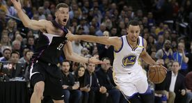 Video: Golden State Warriors pani NBAs püsti meeletu viskekontserdi