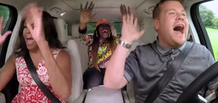 Seda sa pead nägema! Michelle Obama, Missy Elliot ja James Corden laulavad autos «Get Ur Freak On»
