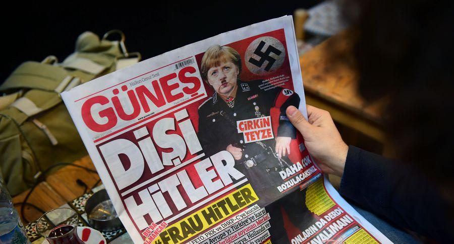 Эрдоган назвал арестованного германского репортера агентом террористов