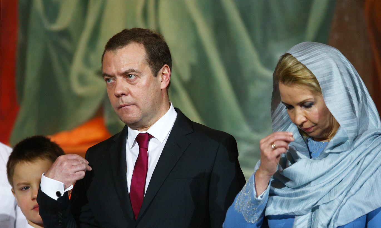Дмитрий медведев биография и его дети фото