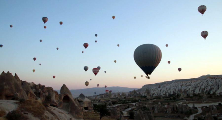 ВЕгипте упал воздушный шар, есть погибшие