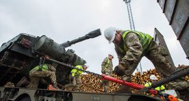 First batch of British troops' equipment arrived in Estonia on Wednesday