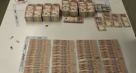Exchange of counterfeit money results in major losses
