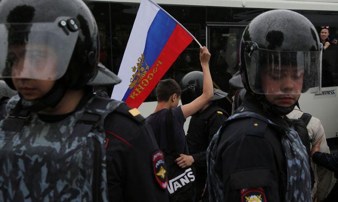 Практически  90% граждан России  отказались участвовать влюбых протестах