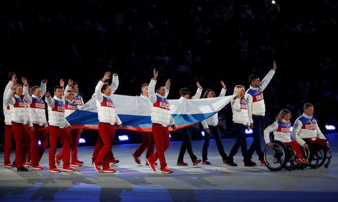 Слово «Россия» под запретом: наши паралимпийцы выступят наИграх без флагов
