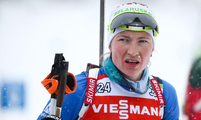 Белорусские биатлонисты стартуют вгонках преследования заключительного этапаКМ вТюмени