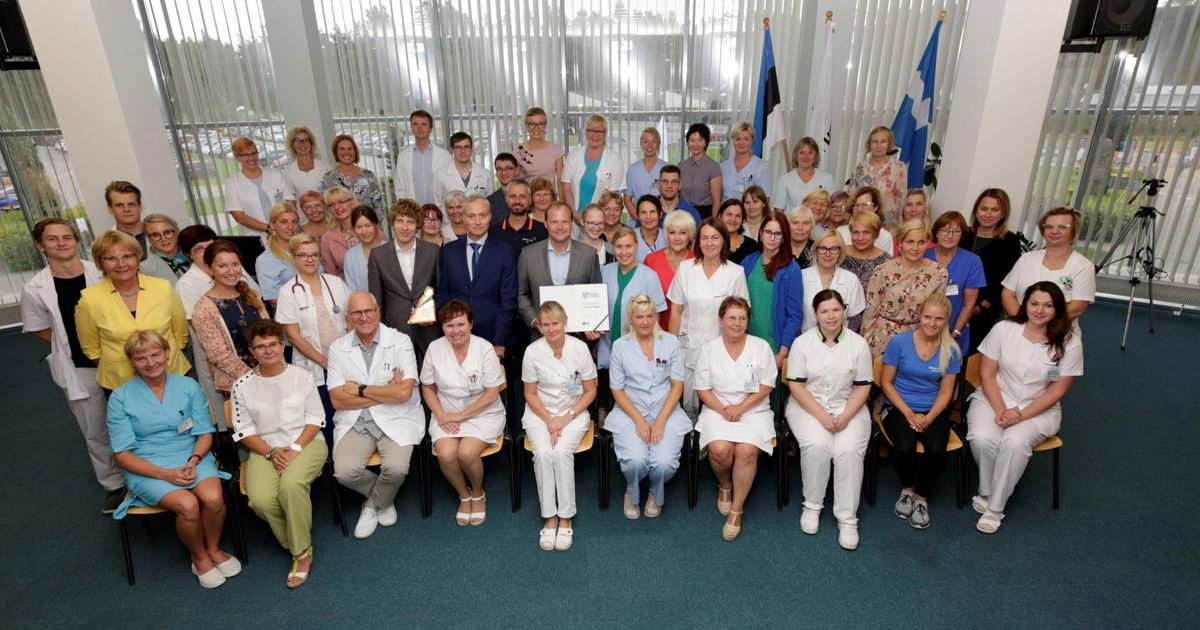 Pärnu haiglale anti üle parima praktikakoha auhind