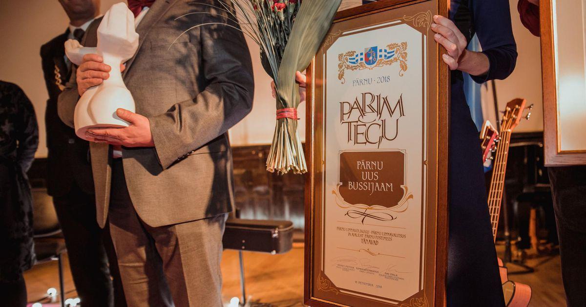 Kes vääriks Pärnu aasta teo auhinda?