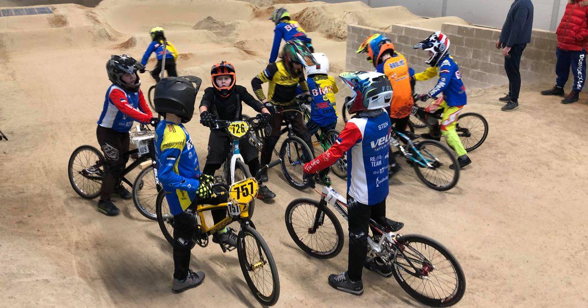 Reola BMXi sisehallis peeti esimesed võistlused