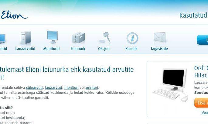 58f76dc9eab Elion avas kasutatud IT-tehnika veebipoe - Auto - Tehnika
