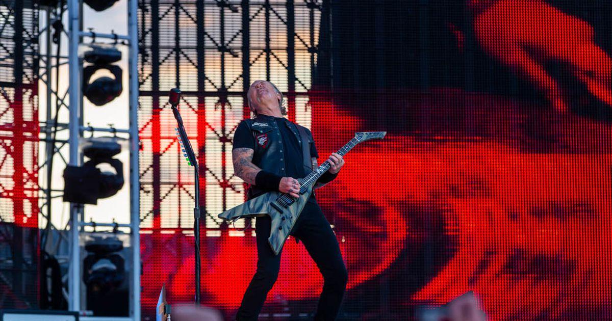 LUGEJAFOTOD JA - VIDEO: Metallica rokkis nii, et Tartu värises! Vaata, mis toimus kohapeal