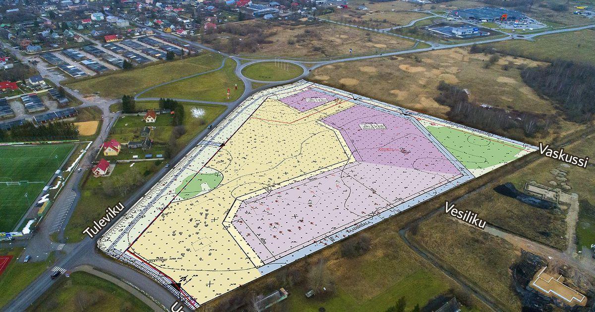 Ussimäele planeeritakse uut kaubanduskeskust