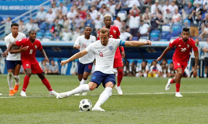 656e38ce21f Inglismaa ja Panama kohtumine MMil. Harry Kane tõusis ühtlasi viie  tabamusega turniiri suurimaks väravakütiks.