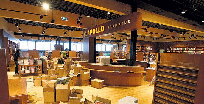 4e6ad654144 Uue osa teisel korrusel asuvas Apollo raamatupoes käis kolmapäeval vilgas  töö. | FOTO: Margus Ansu. Lõunakeskuse Rimi hüpermarket.