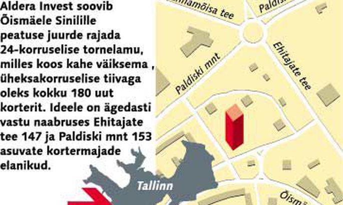 c02df2fe2a0 Arendaja surub Õismäele linna kõrgeimat kortermaja - Arhiiv ...