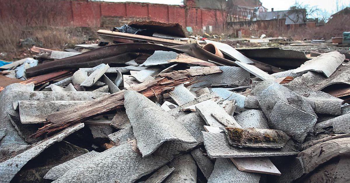 Kogumisring ootab asbestijäätmeid