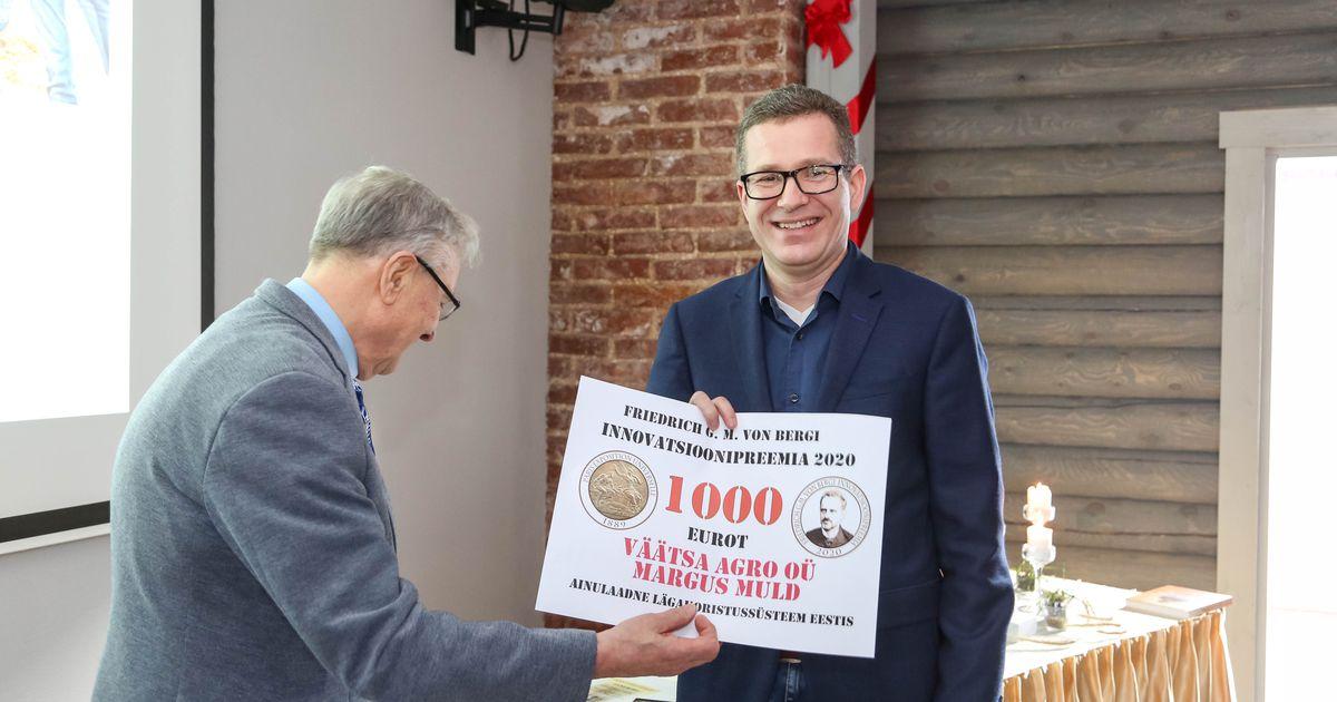 Bergi innovatsioonipreemia pälvis ainulaadse lägakoristussüsteemiga Järvamaa firma