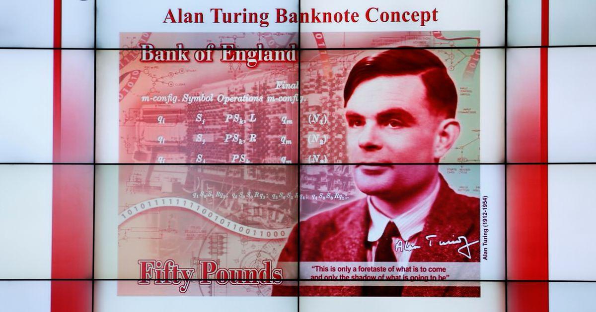 Inglise 50 naela uuel kupüüril ilutseb koodimurdja Alan Turing