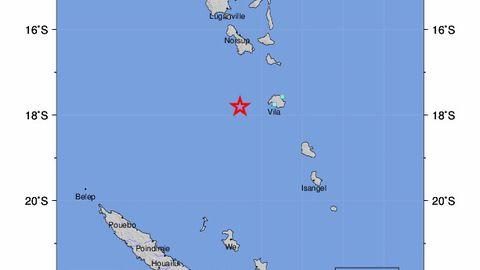Vanuatu pealinna raputas maavärin magnituudiga 6,2
