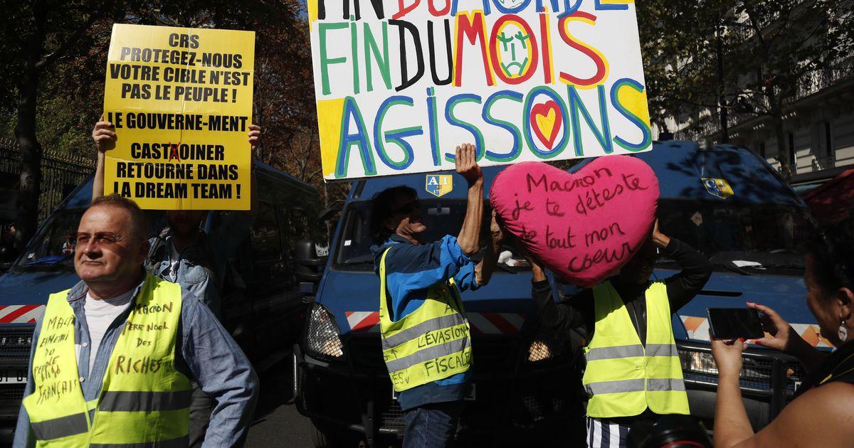 Politsei on Pariisis vahistanud üle saja meeleavaldaja