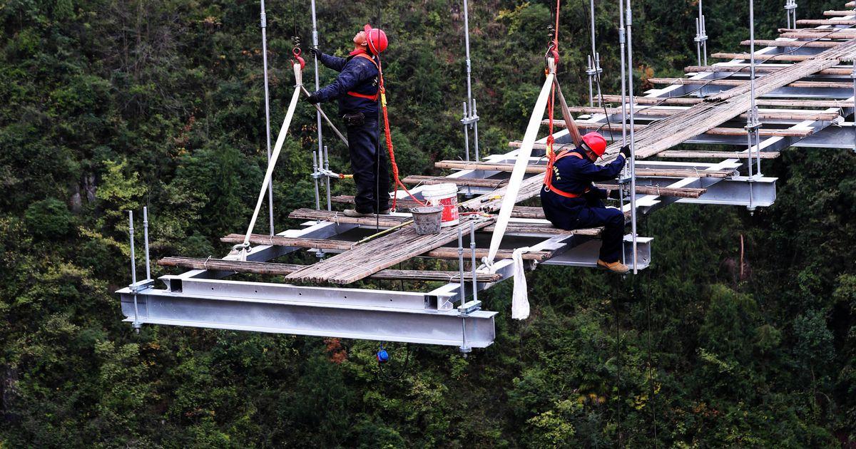 Hiinlased ehitavad uut klaassilda