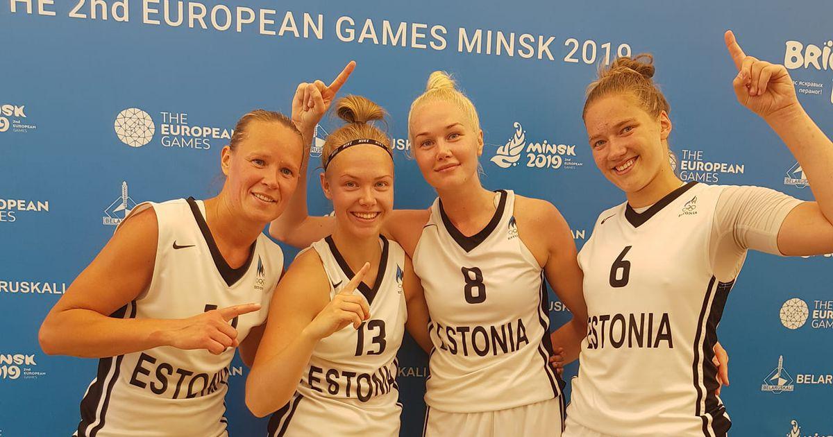 Blogi: Eesti 3x3 korvpallinaiskond võitis Euroopa mängudelt hõbeda