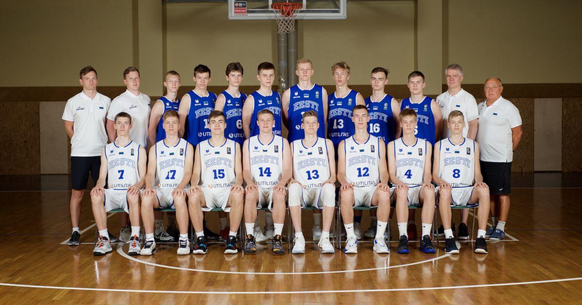 Täna otsepilt: Eesti U16 korvpallikoondis läheb kohamängudel vastamisi tugeva Iisraeliga