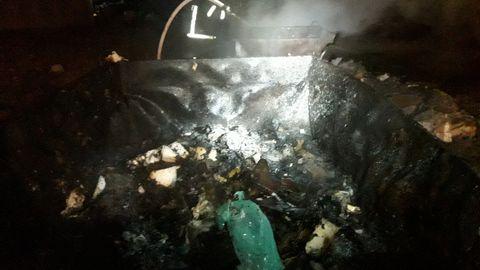 Kohalik ettevõte põletas Tabiveres plastikut ja olmeprügi