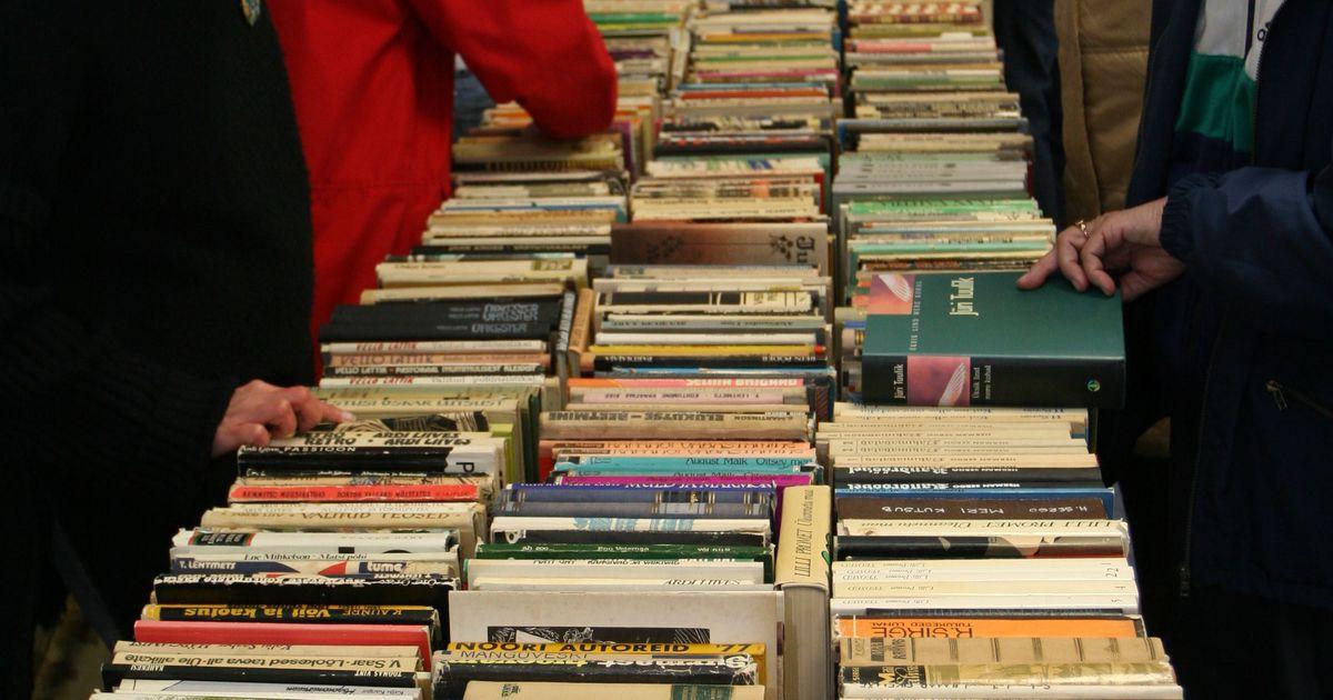 Tallinna Keskraamatukogus toimub raamatutäika