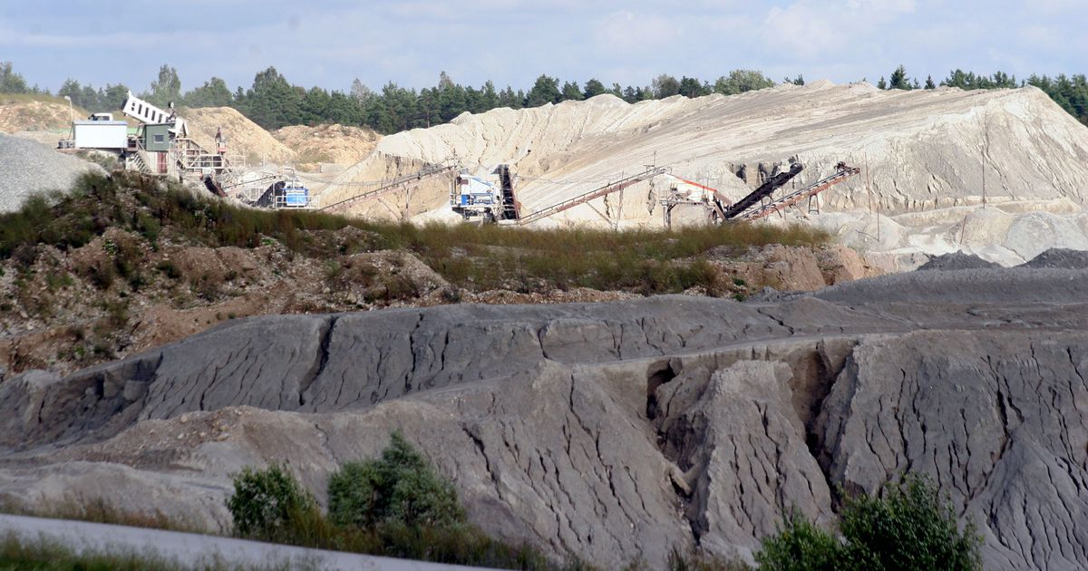 Pärnu-Jaagupi lähedal varitsevad dolomiidikarjääris ohud: