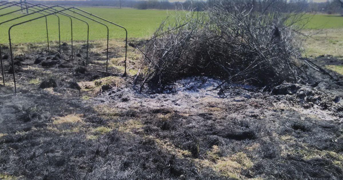 Hooletust lõkkepõletamisest süttis kulu