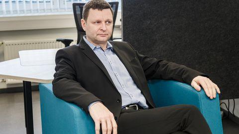 Haigekassa juhatuse esimees Rain Laane.   Foto: Konstantin Sednev / Eesti Meedia