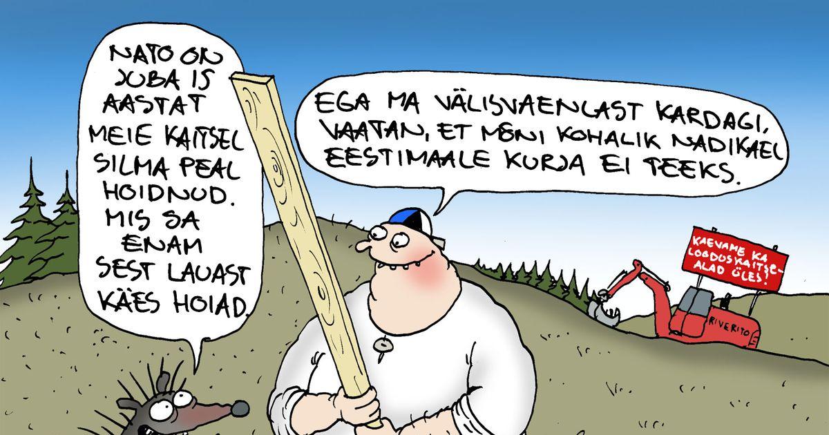Päeva karikatuur: välisvaenlast ei kardagi