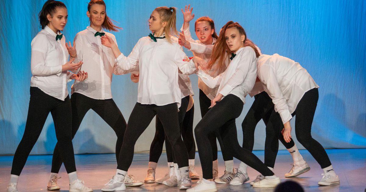 Koolitantsu finaali jõudis seitse Viljandi tantsutruppi