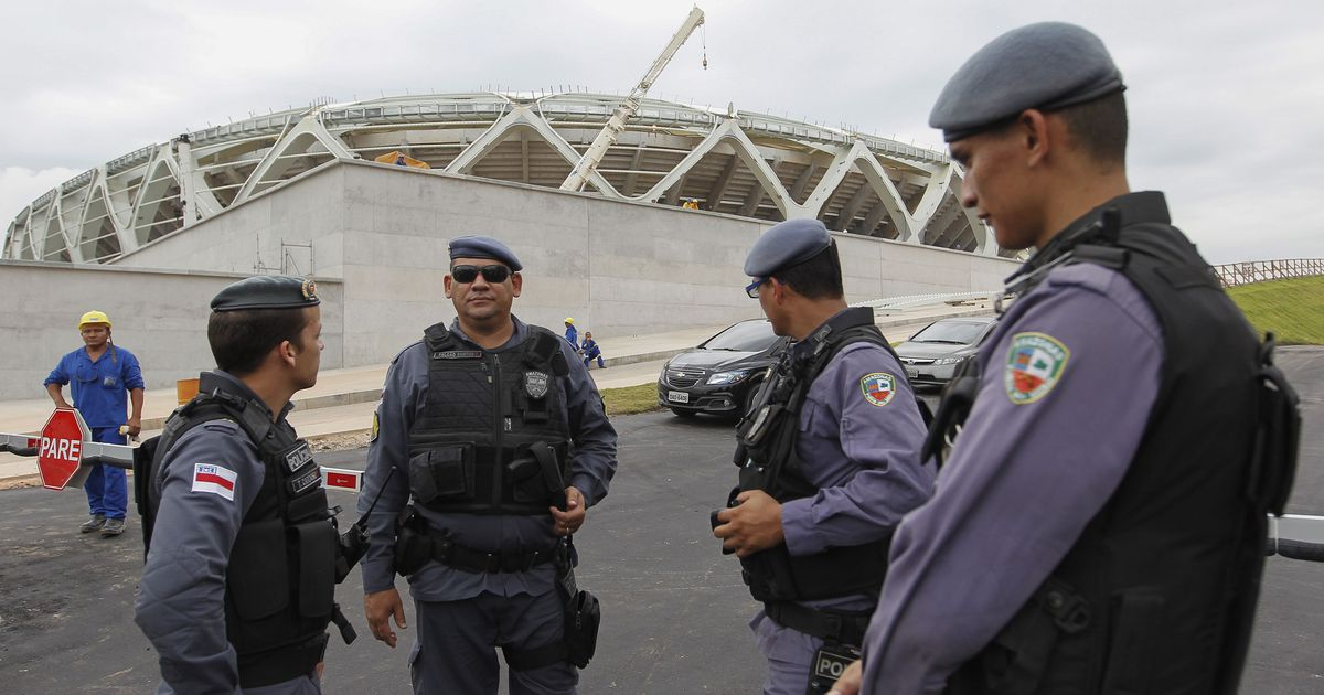 the brazil police force Brazil's population is 50 percent smaller than that of the us but their police forces have killed the same number of people in the last five years as american police have in the last 30 years.