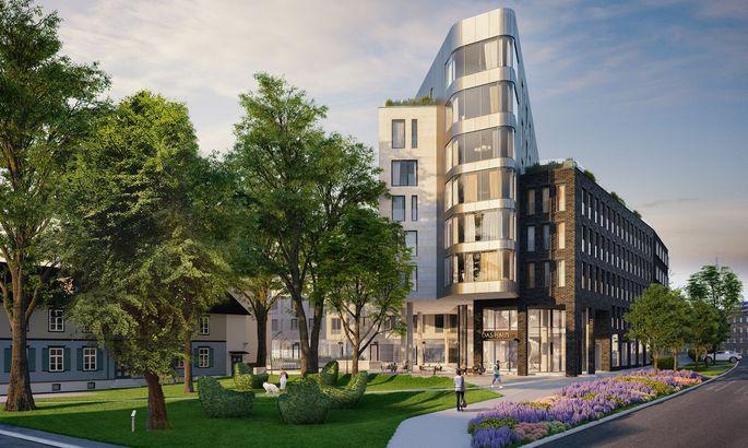 c8574f70e71 Das Haus elamukvartal. FOTO: Novira Capital. Sel nädalal saab Tallinna südalinnas  nurgakivi uus elamukvartal, millega kerkivad Pärnu ...