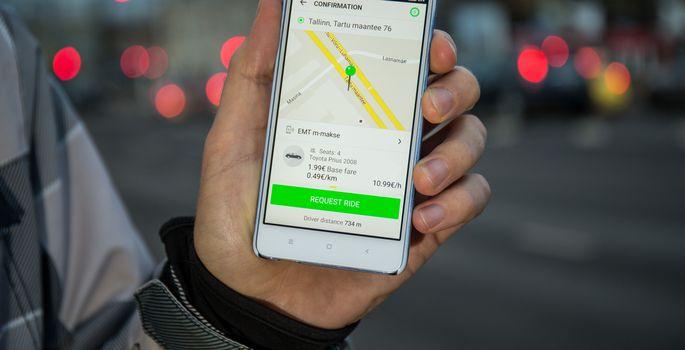 0885d6ae5d7 Šokis klient: Taxify taksojuht pani tüli tõttu uksed lukku ja sõitis ...