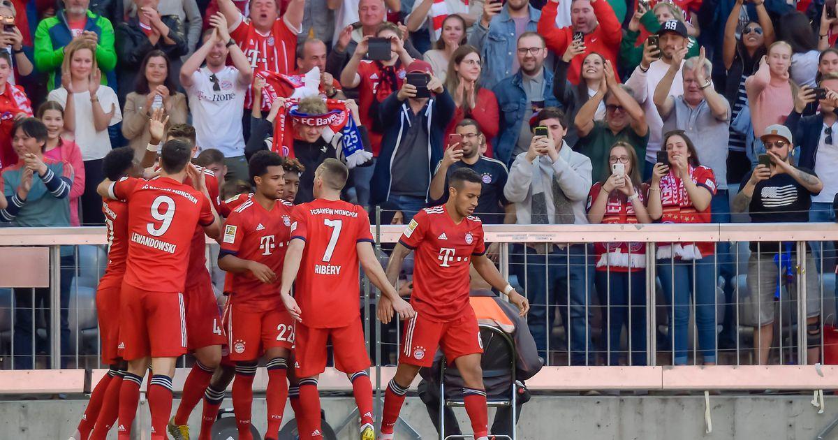 Bayern astus seitsmendale järjestikusele meistritiitlile sammu lähemale