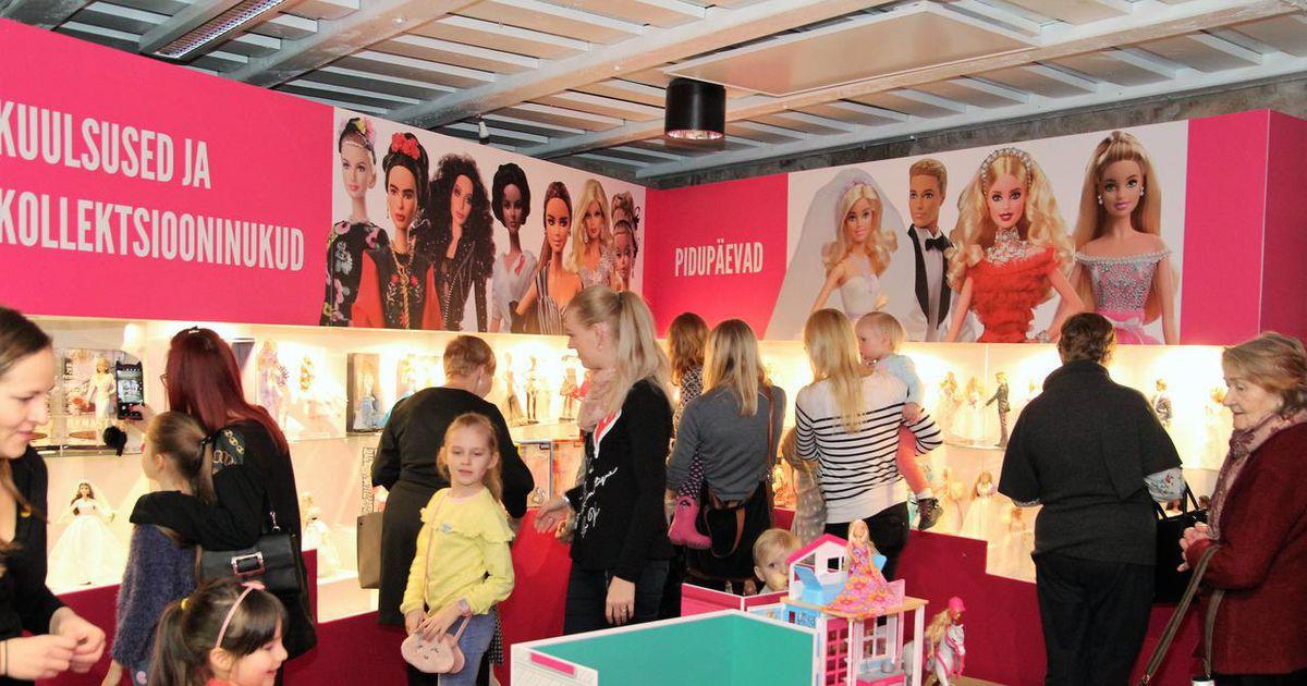 Barbie taaskasutuslaat ja moedemm mänguasjamuuseumis