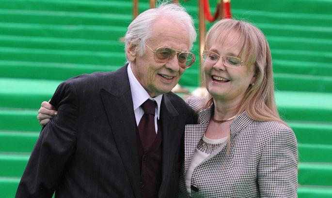 Наталия Белохвостикова и ее муж Владимир Наумов