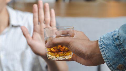 Alkoholist keeldumine.