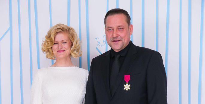 2bd337cf68f Üldluulepeo idee autor ja lavastaja Üllar Saaremäe ning kostüümikunstnik  Ketlin Kütt. | FOTO: Madis Sinivee