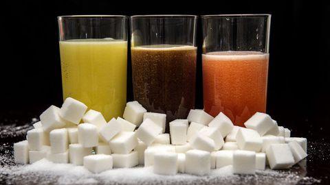 Mida rohkem sisaldas jook suhkrut, seda kahjulikum see tervisele oli.