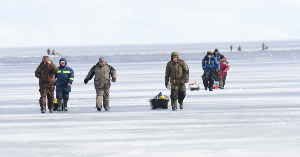 Video: kalamees vajus sekunditega läbi Peipsi järve jää