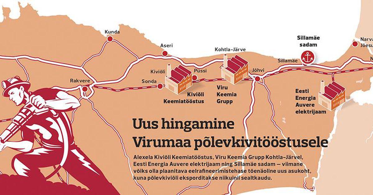 Uus rafineerimistehas päästaks Eesti õlitööstuse