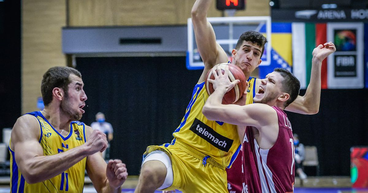 VIDEO⟩ The Latvian national team in Sarajevo loses its home team, making it very difficult for them to make their way to the European Championship – Basketball