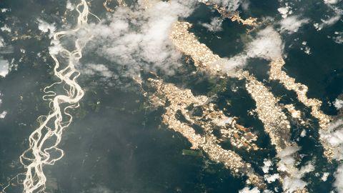 NASA leidis Peruust kuldsed jõed