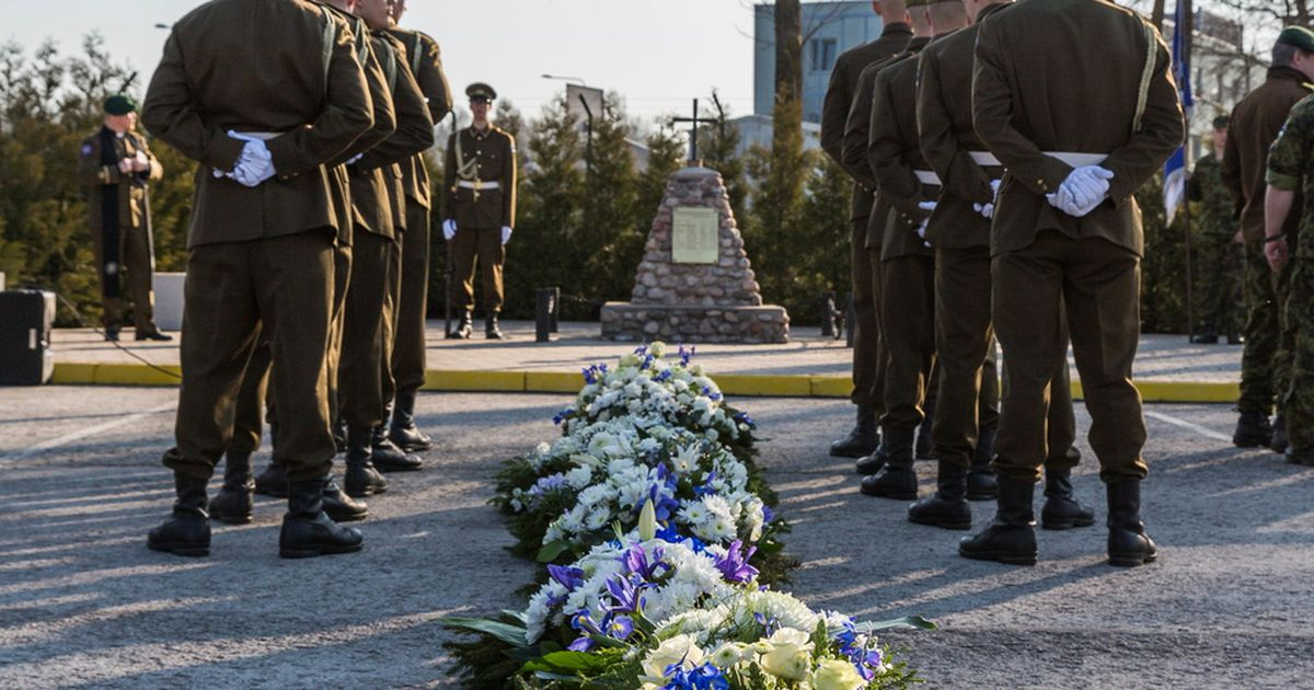Mälestati välisoperatsioonidel langenud kaitseväelasi