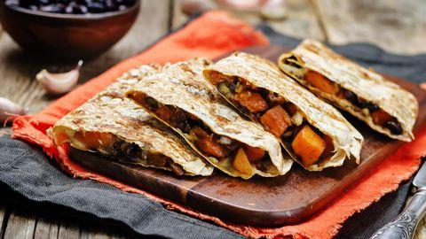 Oivaline hommikusöök: quesadillad bataadi ja juustuga