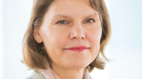 Terviseameti juht Merike Jürilo.